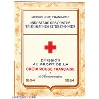 CARNET CROIX ROUGE SANS PUB N° 2003 ANNEE 1954 NEUF** Côte 180 Euros - Libretti