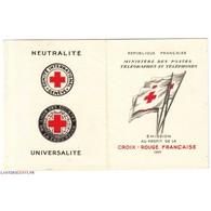 CARNET CROIX ROUGE SANS PUB N° 2004 ANNEE 1955 NEUF** Côte 450 Euros - Libretti