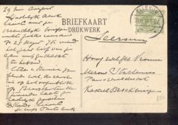 Ellekom Langebalk - 1918 Ellecom ? - Marcofilia