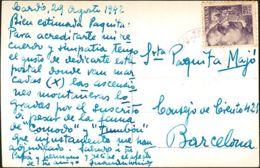 España. Cataluña. Historia Postal. Cataluña. Historia Postal. BALNEARIO DE CARDO - Spain