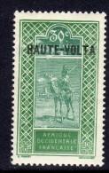 Haute Volta  N ° 41 XX  30 C. Vert Et Vert Foncé Sans Charnière,  TB - Unused Stamps