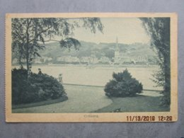 CPA Allemagne COBLENCE KOBLENZ COBLENZ - Les Bords De La Moselle, église  1923 - Koblenz