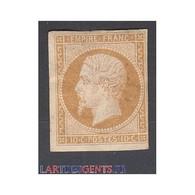 TIMBRE NAPOLEON N°13B - 10 C.  Neuf* Signé Calvès - 1853-1860 Napoléon III