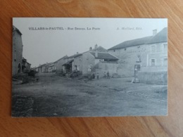 Villars Le Pautel Rue Dessus La Poste Haute Saône Franche Comté - Frankrijk