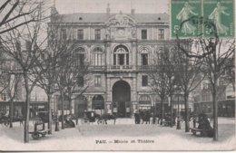 Pau Mairie Et Theatre - Pau