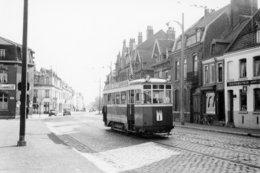 Lille. Lomme. Tramways Ligne I. Cliché Jacques Bazin. 13-09-1953 - Tramways