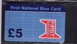 UNITED KINGDOM REGNO UNITO SCHEDA TELEFONICA TELEPHONIC CARD FIRST NATIONAL BLUE CARD £ 5 - Royaume-Uni