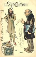 España. Tarjetas Postales. Sobre 242. (1900ca). 5 Cts. Tarjeta Postal Ilustrada, Correo Interior De BARCELONA. MAGNIFICA - Spain
