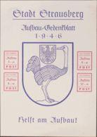 Alemania, Locales. (*)Yv . 1946. Privados. Strausberg. Hoja Bloque. MAGNIFICA Y RARA. (MiBl3 65 Euros) - [1] ...-1849 Precursores