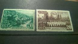 USSR  1948 30 Years Of The Komsomol, 20 Kopecks Set-off - Unused Stamps