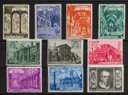 Vaticano. MNH **Yv 140/49. 1949. Serie Completa. MAGNIFICA. Yvert 2016: 74 Euros. - Vaticano (Ciudad Del)