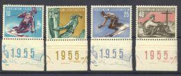 Liechtenstein. MNH **Yv 296/99. 1955. Serie Completa. MAGNIFICA. Yvert 2012: 65 Euros. - Liechtenstein