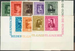 Liechtenstein. MNH **Yv 232/40. 1949. Serie Completa. MAGNIFICA. Yvert 2012: 70 Euros. - Liechtenstein