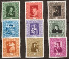 Liechtenstein. MNH **Yv 232/40. 1949. Serie Completa. MAGNIFICA. Yvert 2015: 75 Euros. - Liechtenstein