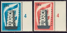 Holanda. MNH **Yv 659/60. 1956. Serie Completa. MAGNIFICA. Yvert 2012: 70 Euros. - Holanda