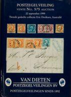 Holanda, Bibliografía. (1999ca). Conjunto De Dos Catálogos Pertenecientes A La Colección ERIC DREIKUS, Celebradas En Sep - Holanda
