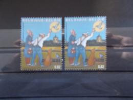 BELGIQUE - 2 Timbres Du BLOCS FEUILLETS N° 102 N° 3159  Année 2003 Neuf XX Voir Photo - Blokken 1962-....