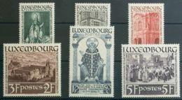 Luxemburgo. MNH **Yv 300/05. 1938. Serie Completa. MAGNIFICA. Yvert 2012: 70 Euros. - Sin Clasificación