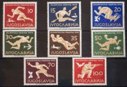 Yugoslavia. MH *Yv 706/13. 1956. Serie Completa. MAGNIFICA. Yvert 2013: 100 Euros. - Sin Clasificación
