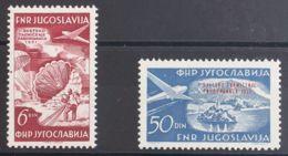 Yugoslavia, Aéreo. MH *Yv 45/46. 1951. Serie Completa. MAGNIFICA. Yvert 2013: 106 Euros. - Yugoslavia
