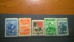USSR  1943 25 Years Of The Komsomol, Mint - Unused Stamps