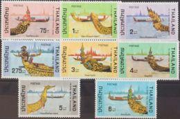 Tailandia. MNH **Yv 754/61. 1975. Serie Completa. MAGNIFICA. Yvert 2010: 50 Euros. - Tailandia