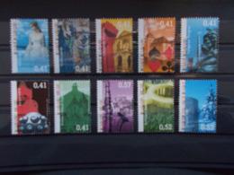 BELGIQUE -les Timbres Du  BLOCS FEUILLETS N° 104  N° 3184/93  Année 2003 Neuf XX Voir Photo - Blokken 1962-....