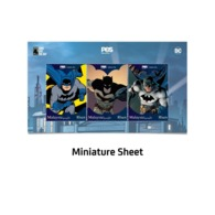 Malaysia 2019 Batman 80 Years Personalized Stamp M/S MNH Cartoon Comics DC Super Hero Cave Bat - Cinema