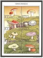 Mali (1996) Yv. 1058/65  /  Setas - Pilze - Mushrooms - Champignons - Fungi - Cogumelos - Hongos