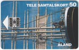 ALAND A-014 Chip Tele - Traffic, Sail Ship - Used - Aland