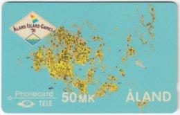 ALAND A-015 Magnetic Tele - Event, Sport, Island Games - 4FINB - Used - Aland
