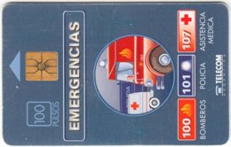 ARGENTINIA A-044 Chip Telecom - Communication, Rescue - Used - Argentinien