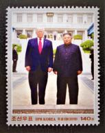 SOMMET AVEC LES USA 2019 - NEUF ** - TIMBRE DU BLOC - YT 791 - Korea, North