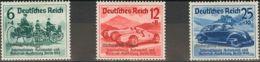 Alemania. MH *Yv 629A/C. 1939. Serie Completa. MAGNIFICA. Yvert 2014: 120 Euros. - [1] ...-1849 Precursores