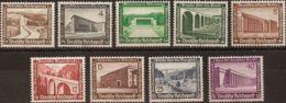Alemania. MNH **Yv 582/90. 1936. Serie Completa. MAGNIFICA. (Mi634/42y 80 Euros) - [1] ...-1849 Precursores