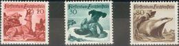 Liechtenstein. MNH **Yv 247/49. 1950. Serie Completa. MAGNIFICA. Yvert 2012: 85 Euros. - Liechtenstein