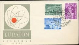 Atomique De MOLS. PREMIER JOUR DE CIRCULATION. Proto FDC 2 DEC 1946. Armoiries De Ville.    Rarement Vu   ! - FDC