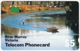 AUSTRALIA A-650 Optical Telecom - Landscape, River - Used - Australie