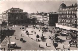 FR34 MONTPELLIER - Place De La Comédie - Animée - Belle - Montpellier