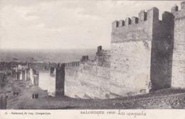Grèce,salonique En 1916,au Fond Bateaux De Guerre,fortifications  (  (4J) - Grecia