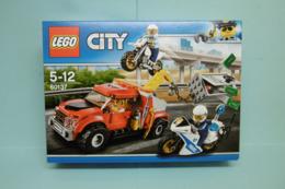 Lego City - LA POURSUITE DU BRAQUEUR Tow Truck Recovery Réf. 60137 Neuf En Boîte - Lego