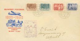 Holanda. Sobre Yv 578/81. 1952. Serie Completa. Sobre De Primer Día. MAGNIFICO. - Holanda