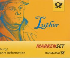 Martin Luther, Ein Augustinermönch Und Theologieprofessor, War Der Initiator Der Reformation.- Booklet ** 8 X 70 Cts - Theologen