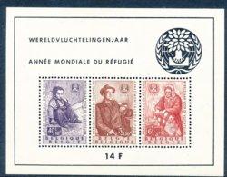Année Mondiale Du Réfugié 1960 - Bloques 1924 – 1960