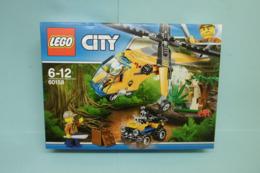 Lego City - L'HELICOPTERE CARGO DE LA JUNGLE Réf. 60158 Neuf En Boîte - Lego