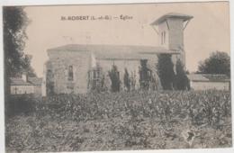 SAINT ROBERT L'EGLISE 1923 TBE - Monflanquin