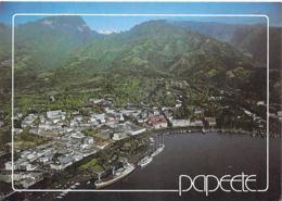 Polynésie Française-Le Port De PAPEETE (Harbour Ships Bateaux)  (Série Paradis TAHITI 85 Photo Sibani  )@*PRIX  FIXE - Polynésie Française