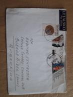 Enveloppe De La Slovénie Distribuée En Argentine En 1994 - Eslovenia