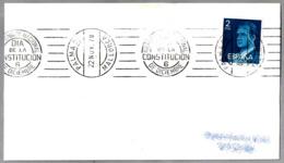 Rodillo REFERENDUM NACIONAL - DIA DE LA CONSTITUCION - 6 DE DICIEMBRE. Palma De Mallorca, Baleares, 1978 - 1931-Hoy: 2ª República - ... Juan Carlos I