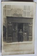 Rare Carte Photo 83 Barjols 1914 Pharmacie Place Capitaine Vincens Personnage Alric Marcel Régiment Hussards - Barjols